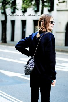 Streetstyle: The Denim Jumpsuit + Chic Bag Details - Lellavictoria | Creators of Desire - Fashion trends and style inspiration by leading fashion bloggers