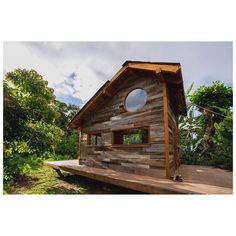the tiny house in hawaii that @JAY built ☟    not only does jay nelson make rad treehouses,   tiny houses and adventuremobiles** ~ he also creates with oil and canvas and has a sweet tumblr blog ~ ☟    link to more photos of this home with additional links to jay's sites in @smallhomeideas bio ☟ **(see recent posts by @moviemountain ) ☟    hat tip to @shelterpub    #smallandtinyhomeideas