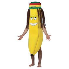 Men's Rasta Banana Costume Yellow - One Size Fits Most