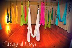 Aerial Yoga Hammock - Aerial (Unnata) Yoga Swing or Antigravity Yoga, & Inversion Therapy on Etsy, $200.00