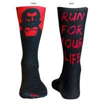 Lacrosse Sublimated Mid Calf Socks Vampire. Fun Halloween Socks for Lax Girls! LuLaLax.com