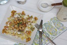 Cuinant: Pasta con Pollo, Manzana y Gorgonzola