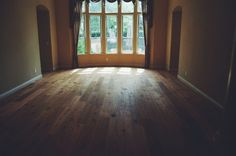 Some work I did in Buchanan Estates Home. 7 1/2 inch French White Oak. Love the window shot. Done by Todd's Hardwood Flooring.