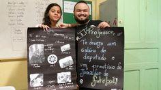 E. E. Martim Afonso da D. E.  de São Vicente Selfie de  Responsa 2015 Professor Daniel Lino e aluna do Ensino Médio Rayra Menezes #selfiedaAprendizagem #NaEscolaeNavida #CircuitoDeJuventude2015