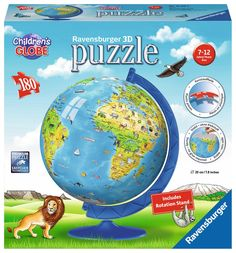 Ravensburger 3D Puzzle 180pc - Children's Globe