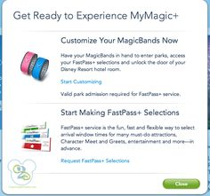 What is Fastpass Plus and Disney Magic Bands and My Magic Plus?