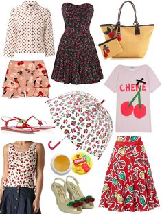 Cherry apparel and accessories...