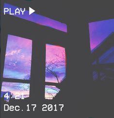 M O O N V E I N S 1 0 1 #vhs #aesthetic # sky #window #pink #blue #neon