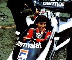 Ayrton Senna - 1983 Brabham tests