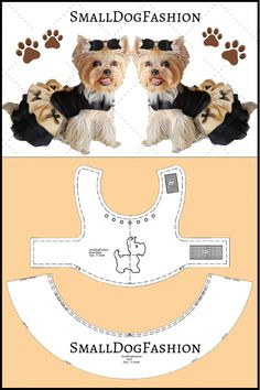 Dog clothes pattern for small dog sewing pattern dog dress Small dog clothes PDF dog clothes Girl dog clothes small PDF dog pattern for pets Girl Dog Clothes, Puppy Clothes, Clothes For Dogs, Animal Clothes, Pekinese, Dog Pattern, Pattern Sewing, Girl And Dog, Dog Sweaters