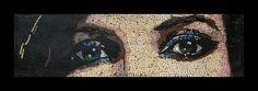 Maribel's Eyes Mosaic by Frederic Lecut - Mosaicblues - 2012.
