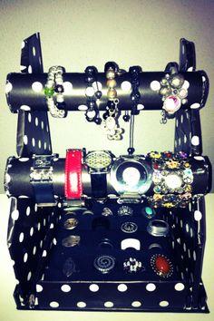 Organizador de anillos, pulseras, relojes...