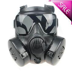 Tactical Skull Airsoft Painball Full Face M50 Gas Masks Black  #M50GasMasks