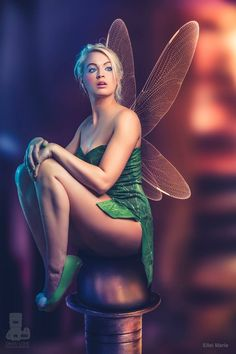 Character: Tinker Bell / From: Walt Disney's 'Peter Pan' / Cosplayer: Ellei Marie / Photography: David Love Photography