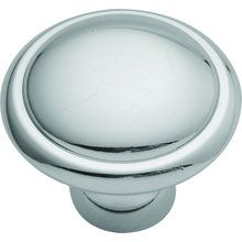 """View the Hickory Hardware P14848 Eclipse Round Cabinet Knob with 1.4"""" Diameter at PullsDirect.com."""