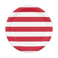 sc 1 st  Pinterest & Frenchie striped large plates