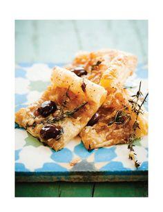 Caramelized Onion & Thyme Tart (Sweet Paul Magazine - Fall 2012 - Page 78-79)