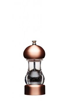 Master Class Filled Capstan Copper Effect Pepper Mill