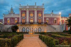 The Estoi Palace in the Algarve, Portugal