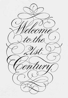 calligraphic flourishes - Google Search