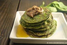 Spinach Protein Pancakes