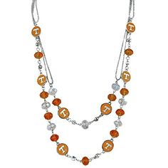 24 Inch Tennessee Volunteers Multi-Strand Bead Necklace J and D Jewelry and More http://www.amazon.com/dp/B00YM2QS80/ref=cm_sw_r_pi_dp_2NI7vb1YPV8FW