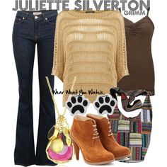 Inspired by Grimm character Juliette Silverton played by Bitsie Tulloch.