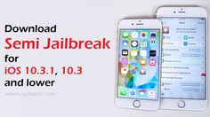 download semi jailbreak iOS 10.3.1, no jailbreak required. In fact, that's the best way for alternative Cydia appstore - users no longer...