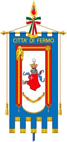 GONFALON CITY OF FERMO