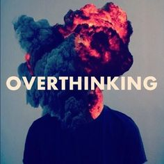 overthinking. design-typography-graphic-design-illustration