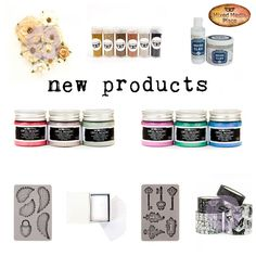 Some new great products are available in our store. Some of them were previously available at Michaels only. So hurry up! https://loom.ly/4RLVPNg #mixedmediaplace #mmp #newproducts #newinstore