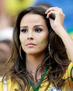 Ridiculously photogenic fans from the World Cup