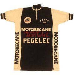 70's vintage MOTOBECANE  cycle jersey made in France(Etsy のSHOPakifuuより) https://www.etsy.com/jp/listing/527686128/70s-vintage-motobecane-cycle-jersey-made