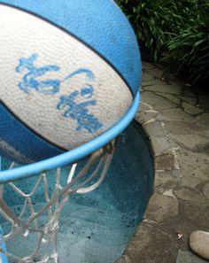 Pool Game: Play Pool Basketball  with hula hoops and water balloons