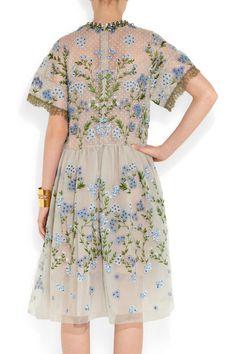 Biyan|Audrey embellished tulle dress|