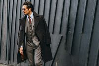 When Tommy Met David: Our Best Street-Style Snaps of David Gandy - Gallery - Style.com