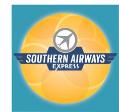 Airline logo design combined with background for facebook post.
