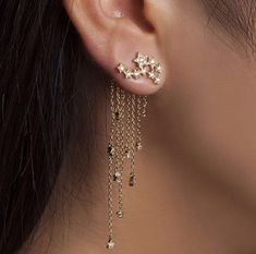 Dreamy earrings!