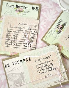 French Market Note Cards