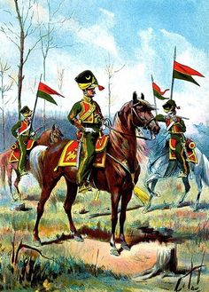 France - Cavalerie - Les Tartares Lituaniens .