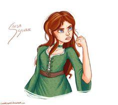Tough Sansa by LizbethLizard on DeviantArt