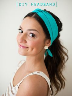 DIY headband for the Weekend on Garland of Grace Blog <3