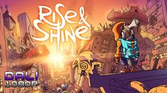 """Rise & Shine is a true """"think and gun"""" that combines elements of arcade shooters, bullet hells, and puzzle platformers to create a new blend of strategy and viscera. #PC #Steam #Indie #SuperMegaTeam #adultswimgames #YouTube"""