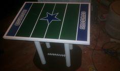 My newest creation, Dallas Cowboys table...