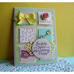Serendipity Stamps Sugar and Spice, Baby Booties Small and Baby Bib etc stamps