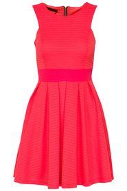 Fame dress koraal