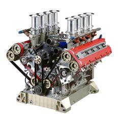 ◆ Visit MACHINE Shop Café... ◆ ● Ferrari F355 & 360 GT Engine ●