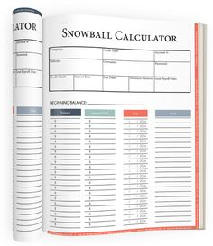 Debt Snowball Calculator  Debt Snowball
