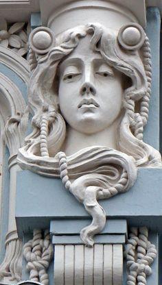 The World Art Nouveau Art Nouveau Architecture, Art And Architecture, Jugendstil Design, Academic Art, Art Decor, Decoration, Art Nouveau Design, Matte Painting, Arts And Crafts Movement