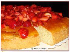 TORTA MORBIDA ALLE FRAGOLE / SOFT CAKE WHIT STRAWBERRY